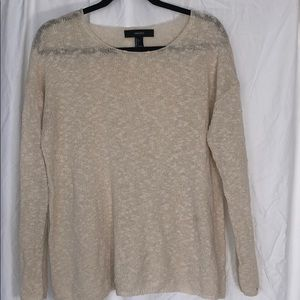 Forever 21 Cream Layering Sweater